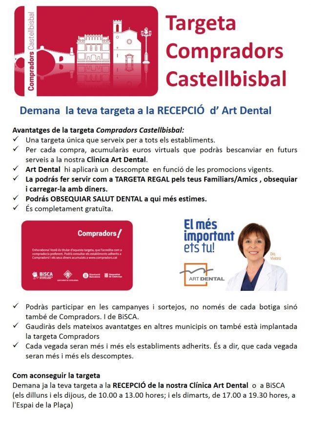 TARGETA COMPRADORS  CASTELLBISBAL